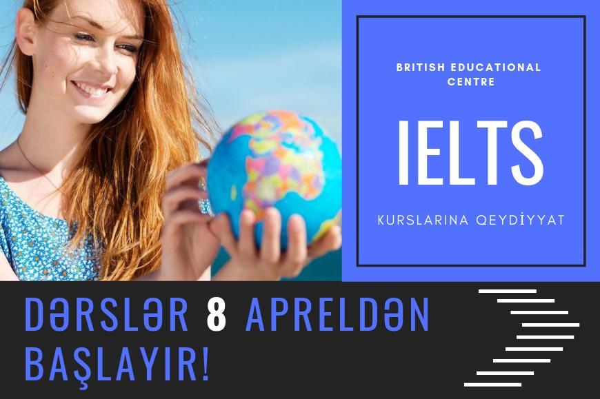 IELTS kurslarına qeydiyyat başladı Rəsmi IELTS imtahan mərkəzi olan British Educational Centre yeni IELTS və PreIELTS qruplarına qeydiyyata başlayır.